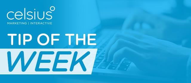 "logo header ""tip of the week"""