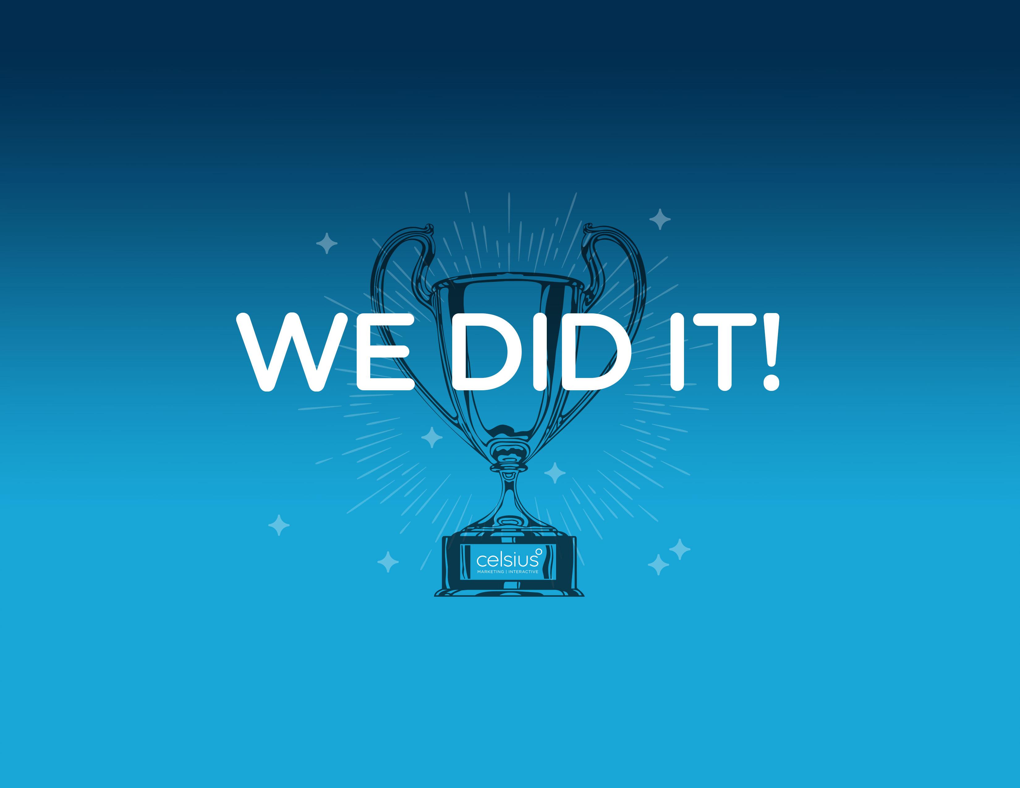 Celsius Wins Big at 2016 EduAd Awards